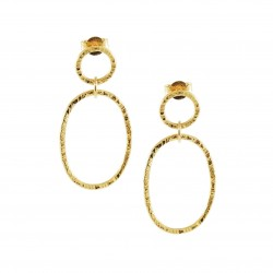 Oval Raphael earrings