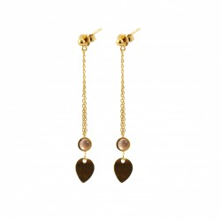 Big Size Drop Sienna Earrings