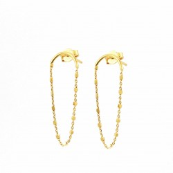 Square Abby Chains Earrings